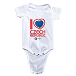 Czech Republic Euro 2016 Heart Onesie (White)