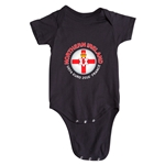 Northern Ireland Euro 2016 Fashion Onesie (Black)