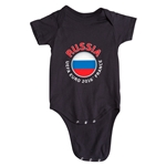 Russia Euro 2016 Fashion Onesie (Black)