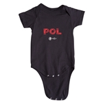Poland Euro 2016 Elements Onesie (Black)