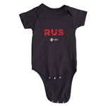 Russia Euro 2016 Elements Onesie (Black)