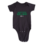 Northern Ireland Euro 2016 Core Onesie (Black)