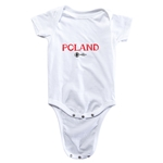 Poland Euro 2016 Core Onesie (White)