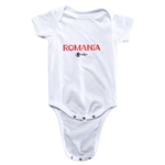 Romania Euro 2016 Core Onesie (White)