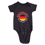 Germany Euro 2016 Fashion Onesie (Black)
