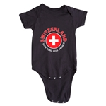 Switzerland Euro 2016 Fashion Onesie (Black)