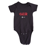 Germany Euro 2016 Elements Onesie (Black)