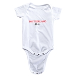 Switzerland Euro 2016 Core Onesie (White)