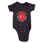 Turkey Euro 2016 Fashion Onesie (Black)