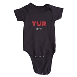 Turkey Euro 2016 Elements Onesie (Black)