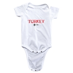 Turkey Euro 2016 Core Onesie (White)