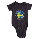 Sweden Euro 2016 Fashion Onesie (Black)