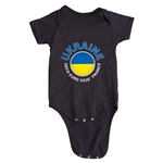Ukraine Euro 2016 Fashion Onesie (Black)