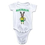 Australia Animal Mascot Onesie (White)