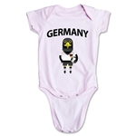 Germany Animal Mascot Onesie (Pink)