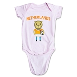 Netherlands Animal Mascot Onesie (Pink)
