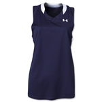Under Armour Women's Tempo Racerback Jersey (Navy/White)