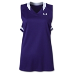 Under Armour Women's Tempo Racerback Jersey (Pur/Wht)