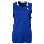 Under Armour Women's Tempo Racerback Jersey (Roy/Wht)
