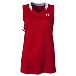 Under Armour Women's Tempo Racerback Jersey (Sc/Wh)