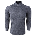 Under Armour Tech 1/4 Long Sleeve T-Shirt (Black)