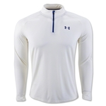 Under Armour Tech 1/4 Zip LS T-Shirt (Tan)