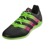 adidas ACE 16.3 IN (Black/Shock Pink/Solar Green)