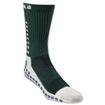 TRUSOX Crew Length Sock-Cushion (Dark Green)