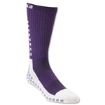 TRUSOX Crew Length Sock Cushion (Purple)