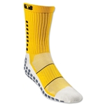 TRUSOX Crew Length Sock-Thin (Gold)
