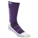 TRUSOX Crew Length Sock Thin (Purple)