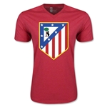 Atletico Madrid Core V-Neck T-Shirt (Heather Red)