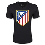 Atletico Madrid Core V-Neck T-Shirt (Black)