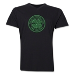 Celtic V-Neck T-Shirt (Black)