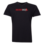 Grassroot Soccer V-Neck T-Shirt (Black)