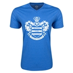 Queens Park Rangers Core Men's V-Neck T-Shirt (Heather Royal)