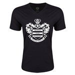 Queens Park Rangers Core Men's V-Neck T-Shirt (Black)
