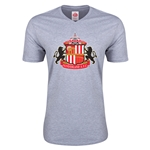 Sunderland Core Men's V-Neck T-Shirt (Gray)