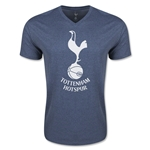 Tottenham Core V Neck T-Shirt (Heather Navy)