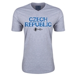Czech Republic Euro 2016 Core V-Neck T-Shirt (Grey)