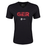 Germany Euro 2016 Elements V-Neck T-Shirt (Black)