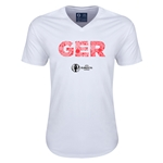 Germany Euro 2016 Elements V-Neck T-Shirt (White)
