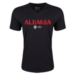 Albania Euro 2016 Core V-Neck T-Shirt (Black)