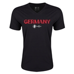 Germany Euro 2016 Core V-Neck T-Shirt (Black)