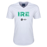 Ireland Euro 2016 Elements V-Neck T-Shirt (White)