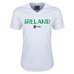 Ireland Euro 2016 Core V-Neck T-Shirt (White)