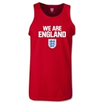 England We Are Tank Top (Red)