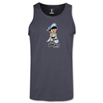 1978 FIFA World Cup Guachito Mascot Tank Top (Dark Gray)