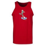 1990 FIFA World Cup Ciao Mascot Tank Top (Red)