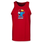 1998 FIFA World Cup Footix Mascot Tank Top (Red)
